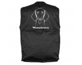 Für MenschenWeihnachtsmarktDackel Kurzhaar - Hundesportweste mit Rückentasche MIL-TEC ®