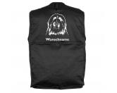 Taschen & RucksäckeCanvas Tasche HunderasseBearded Collie 2 - Hundesportweste mit Rückentasche MIL-TEC ®