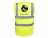 Bekleidung & AccessoiresHundesportwesten mit Hundemotiven inkl. Rückentasche MIL-TEC ®Affenpinscher - Hundesport Warnweste Sicherheitsweste mit Hundemotiv