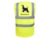 Backformen & ZubehörAusstechförmchen HundeAfghane - Hundesport Warnweste Sicherheitsweste mit Hundemotiv