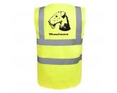 Bekleidung & AccessoiresHundesportwesten mit Hundemotiven inkl. Rückentasche MIL-TEC ®Airedale Terrier 2 - Hundesport Warnweste Sicherheitsweste mit Hundemotiv