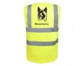Taschen & RucksäckeBaumwolltaschenAkita 2 - Hundesport Warnweste Sicherheitsweste mit Hundemotiv