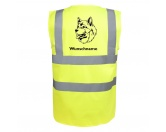 Leben & WohnenTeelichthalterAlaskan Malamute 2 - Hundesport Warnweste Sicherheitsweste mit Hundemotiv
