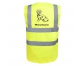 Taschen & RucksäckeCanvas Tasche HunderasseAlpenländische Dachsbracke - Hundesport Warnweste Sicherheitsweste mit Hundemotiv