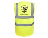 Taschen & RucksäckeCanvas Tasche HunderasseAmerican Bulldog - Hundesport Warnweste Sicherheitsweste mit Hundemotiv