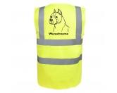 Bekleidung & AccessoiresHundesportwesten mit Hundemotiven inkl. Rückentasche MIL-TEC ®American Staffordshire Terrier - Hundesport Warnweste Sicherheitsweste mit Hundemotiv