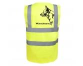 Bekleidung & AccessoiresHundesportwesten mit Hundemotiven inkl. Rückentasche MIL-TEC ®Australian Cattle Dog - Hundesport Warnweste Sicherheitsweste mit Hundemotiv
