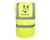 Bekleidung & AccessoiresHundesportwesten mit Hundemotiven inkl. Rückentasche MIL-TEC ®Australian Kelpie - Hundesport Warnweste Sicherheitsweste mit Hundemotiv