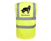 Bekleidung & AccessoiresHundesportwesten mit Hundemotiven inkl. Rückentasche MIL-TEC ®Barbet - Hundesport Warnweste Sicherheitsweste mit Hundemotiv