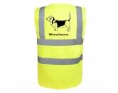 Taschen & RucksäckeCanvas Tasche HunderasseBasset Hound 2 - Hundesport Warnweste Sicherheitsweste mit Hundemotiv
