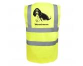Schmuck & AccessoiresHunderassen Schmuck AnhängerBasset Hound 4 - Hundesport Warnweste Sicherheitsweste mit Hundemotiv