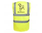 Bekleidung & AccessoiresHundesportwesten mit Hundemotiven inkl. Rückentasche MIL-TEC ®Bayerischer Gebirgsschweißhund - Hundesport Warnweste Sicherheitsweste mit Hundemotiv
