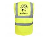 Taschen & RucksäckeCanvas Tasche HunderasseBayerischer Gebirgsschweißhund 2 - Hundesport Warnweste Sicherheitsweste mit Hundemotiv