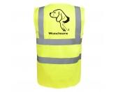Taschen & RucksäckeBaumwolltaschenBeagle 4 - Hundesport Warnweste Sicherheitsweste mit Hundemotiv
