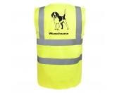 Taschen & RucksäckeCanvas Tasche HunderasseBeagle 3 - Hundesport Warnweste Sicherheitsweste mit Hundemotiv