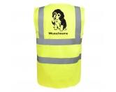 Socken mit TiermotivSocken mit HundemotivBeagle 5 - Hundesport Warnweste Sicherheitsweste mit Hundemotiv