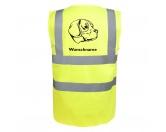 Taschen & RucksäckeCanvas Tasche HunderasseBeagle Harrier - Hundesport Warnweste Sicherheitsweste mit Hundemotiv