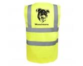 Bekleidung & AccessoiresHundesportwesten mit Hundemotiven inkl. Rückentasche MIL-TEC ®Beauceron - Hundesport Warnweste Sicherheitsweste mit Hundemotiv