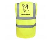 Taschen & RucksäckeCanvas Tasche HunderasseBelgischer Schäferhund - Hundesport Warnweste Sicherheitsweste mit Hundemotiv