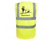 Taschen & RucksäckeCanvas Tasche HunderasseBelgischer Schäferhund 3 - Hundesport Warnweste Sicherheitsweste mit Hundemotiv