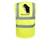 Bekleidung & AccessoiresHundesportwesten mit Hundemotiven inkl. Rückentasche MIL-TEC ®Berner Sennenhund 3 - Hundesport Warnweste Sicherheitsweste mit Hundemotiv