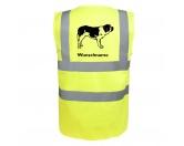 Warnwesten & SicherheitswestenWarnwesten mit Hunderasse MotivenBernhadiner 3 - Hundesport Warnweste Sicherheitsweste mit Hundemotiv