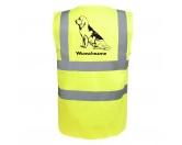 Socken mit TiermotivSocken mit HundemotivBloodhound 3 - Hundesport Warnweste Sicherheitsweste mit Hundemotiv