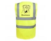 T-ShirtsHunderassen T-ShirtsBordeauxdogge - Hundesport Warnweste Sicherheitsweste mit Hundemotiv