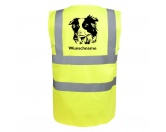 Bekleidung & AccessoiresSchals für TierfreundeBorder Collie - Hundesport Warnweste Sicherheitsweste mit Hundemotiv