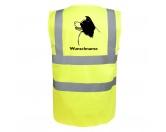 SoftshelljackenSoftshell-Jacke HundemotivBorder Collie 2 - Hundesport Warnweste Sicherheitsweste mit Hundemotiv