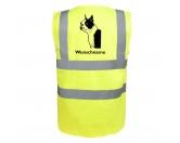 AusstellungszubehörHunderassen Ringclips vergoldetBoston Terrier - Hundesport Warnweste Sicherheitsweste mit Hundemotiv