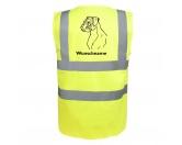 Taschen & RucksäckeGeldbörsen & HandytaschenBoxer - Hundesport Warnweste Sicherheitsweste mit Hundemotiv