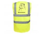 Leben & WohnenFußmatten & LäuferBoxer 3 - Hundesport Warnweste Sicherheitsweste mit Hundemotiv