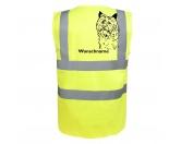 Für Menschen% SALE %Cairn Terrier 2 - Hundesport Warnweste Sicherheitsweste mit Hundemotiv