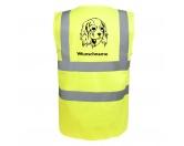 Schmuck & AccessoiresHunderassen Schmuck AnhängerCavalier King Charles 2 - Hundesport Warnweste Sicherheitsweste mit Hundemotiv