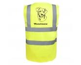 Für TiereHundemotiv - HandtücherChesapeake Bay Retriever 2 - Hundesport Warnweste Sicherheitsweste mit Hundemotiv