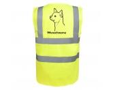 Schmuck & AccessoiresHunderassen Schmuck AnhängerChihuahua 2 - Hundesport Warnweste Sicherheitsweste mit Hundemotiv