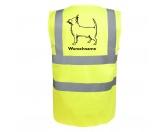 T-ShirtsHunderassen T-ShirtsChihuahua 3 - Hundesport Warnweste Sicherheitsweste mit Hundemotiv