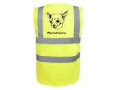 Für MenschenHunde Motiv Handtuch -watercolour-Chihuahua 4 - Hundesport Warnweste Sicherheitsweste mit Hundemotiv