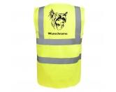 Für Menschen% SALE %Chinesischer Schopfhund - Hundesport Warnweste Sicherheitsweste mit Hundemotiv