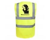 Bekleidung & AccessoiresSchals für TierfreundeCocker Spaniel 2 - Hundesport Warnweste Sicherheitsweste mit Hundemotiv
