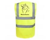 Leben & WohnenTeelichthalterCollie - Hundesport Warnweste Sicherheitsweste mit Hundemotiv