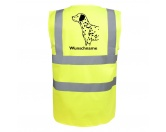 T-ShirtsHunderassen T-ShirtsDalmatiner - Hundesport Warnweste Sicherheitsweste mit Hundemotiv