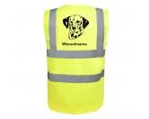 Warnwesten & SicherheitswestenWarnwesten mit Hunderasse MotivenDalmatiner 2 - Hundesport Warnweste Sicherheitsweste mit Hundemotiv