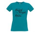 Hundedecken & KissenDRY-BED® & Profleece - TierunterlagenHundespruch T-Shirt: Engel haben Pfoten XXL TÜRKIS EINZELSTÜCK