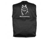 Taschen & RucksäckeCanvas Tasche HunderasseAltdeutscher Schäferhund - Hundesportweste mit Rückentasche MIL-TEC ®