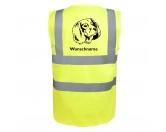 Für Menschen% SALE %Deutsch Langhaar - Hundesport Warnweste Sicherheitsweste mit Hundemotiv
