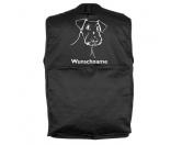 Leben & WohnenGarderoben & SchlüsselboardsAiredale Terrier 3 - Hundesportweste mit Rückentasche MIL-TEC ®