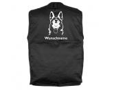 Für Menschen% SALE %Deutscher Schäferhund 7 - Hundesportweste mit Rückentasche MIL-TEC ®