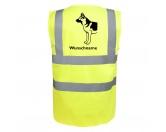 Für Menschen% SALE %Deutscher Schäferhund 3 - Hundesport Warnweste Sicherheitsweste mit Hundemotiv